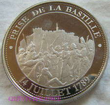 MED5346 - MEDAILLE La prise de la Bastille - 14 juillet 1789