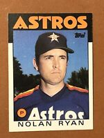 1986 Topps Nolan Ryan Card #100 NM-MT HOF Houston Astros