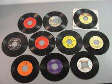 🎙️RECORD 45 RPM VINYL 50-70's CLASSIC EARLY SOFT PSYCH ROCK POP DOO-WOP LOT 10