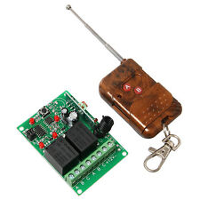 12V 2 Two Channel Wireless Remote Control 2 Relay Module Transmitter & Receiver