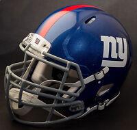 ***CUSTOM*** NEW YORK GIANTS NFL Riddell Full Size SPEED Football Helmet
