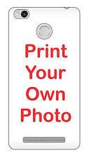For Xiaomi Redmi 3S / 3S Prime Hard Matte Back Cover Print Your Own Custom Case