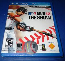 MLB: The Show 12 Sony Playstation Vita *Factory Sealed! *Free Shipping!
