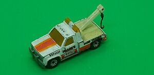 Vintage Matchbox GMC Wrecker Recovery Tow Truck Lorry 24Hr Towing 1987 1:72 A4