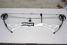 White Bowtech Fanatic 3.0 XL ,Max #50 Limbs, Target Bow