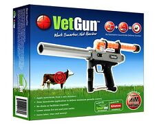 Co2 VetGun Projector to Deliver Insecticide-Filled Gel Capsules for Cattle
