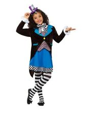 Smiffys 49693m Little Miss Hatter Costume With Dress Multi-colour M - UK Age