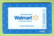 WALMART ( Canada ) Photo Frame 2010 Gift Card ( $0 )