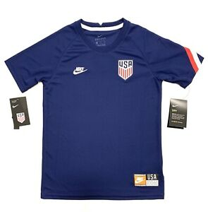 Nike Youth USA Soccer Jersey Blue Size XL