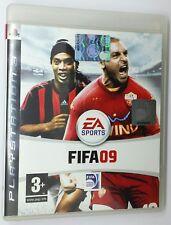 FIFA 09 EA SPORTS   PAL  - Manuale in Italiano PS3 Sony Playstation