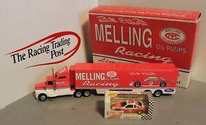 1993 Bill Elliott Melling Oil Pumps Transporter 1/64 Action RCCA Set