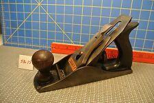 Vintage Stanley #4 Bench Plane Corrugated Base