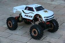 Custom Body Police Sheriff for Redcat Racing Rockslide / Everest 1/10 Crawler