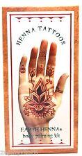 Lakaye Studio Earth Henna Body Painting Kit Original - Temporary Tattoos