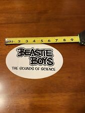 Beastie Boys Sounds Of Science Promo Sticker