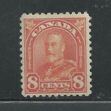 CANADA # 172 MHH KING GEORGE V