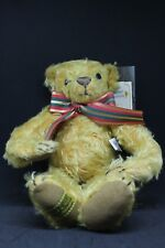 "1994 merrythought 13"" limited edition barton golden mohair bear"