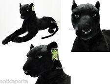 Peluche Pantera Nera Panthera XXL Felini Morbidissima enorme 160 cm GIGANTE