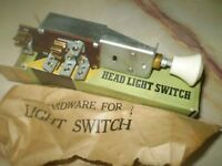 1939 1940 1941 CHRYSLER DODGE PLYMOUTH HEADLIGHT SWITCH NEW OLD STOCK 6 VOLT