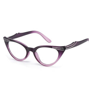 New Ladies Resin Reading Glasses Factory Outlet Cat Eye Glasses Frame +1 to 3.5