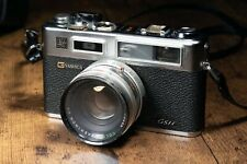 Yashica Electro 35 GSN with 45mm f1.7 lens