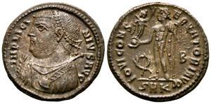 LICINIUS I (317-320 AD) Ae3 Follis. Cyzicus #RS 8121