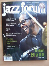 BRIAN BLADE on front cover Polish Magazine JAZZ FORUM 5/2015 in.Billie Holiday