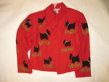 Anage Scottie Jacket in Red, Red Jacket, Women's Jacket, NWT - Size Large