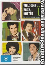 Welcome Back, Kotter Part 1 DVD NEW, FREE POSTAGE WITHIN AUSTRALIA REGION ALL