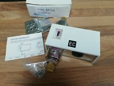 Electro Controls EP-113 differential pressure switch liquid