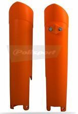 Polisport KTM SX SXF EXC 15-18 Fork Protector guards  sliders Orange Motocross