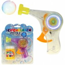"Seifenblasenpistole ""Bubble-Gun"" Komplettset inkl. Seifenblasenflüssigkeit"