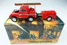 YFE02 1948 - 1952 Land Rover silberne Felgen Feuerwehr - 47253 Matchbox Yesterye