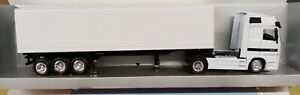 NEW RAY 1/43 - MERCEDES ACTROS 1857 40' BIANCO CONTAINER