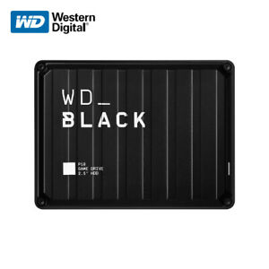WD_BLACK 2TB 4TB 5TB P10 Game Drive USB 3.2 for PS4 & Xbox One with Tracking#