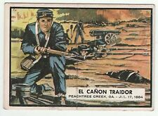 Topps A&BC Civil War News Gum Card Spain Spanish language printing #72