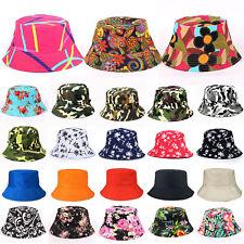 cbd3d755785 Mens Womens Travel Bucket Boonie Hats Fishing Summer Outdoor Sun Beach Hat  Caps