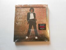 Michael Jackson Off The Wall CD w/Bonus Blue Ray Video Disc New Sealed Package
