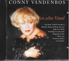 CONNY VANDENBOS - Een echte vriend CD Album 15TR Holland 1995 RARE!!