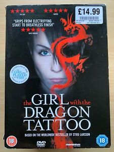 the Girl with the Dragon Tattoo DVD Stieg Larrson's Swedish Crime Thriller