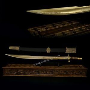 Ottoman Sword / Mehmet the Conqueror Sword / Bronze Sword / Handmade Custom Otto