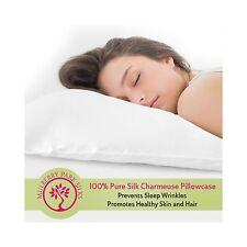 Pure Silk Pillowcase 100% Mulberry Silk OEKO-TEX Certified Prev... Free Shipping