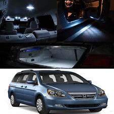 FOR 05-10 Honda Odyssey Interior WHITE 5050 LED Bulb Full Package KIT QTY = 13pc