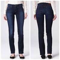 Lucky Brand Sofia Straight Womens Jeans Dark Wash Sz 4/27