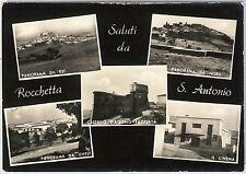 CARTOLINA d'Epoca - FOGGIA provincia : Rocchetta Sant'Antonio 1958