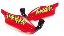 proteges mains moto BOXER universels protege main rouge cross enduro