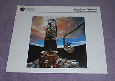 NASA Hubble Telescope First Servicing Mission Photo Litho HQL-400