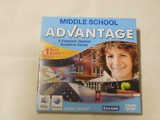 Middle School Advantage 2009 by Encore Software Pc 2-Dvd Set