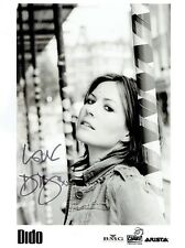 DIDO - Signed B/W photograph