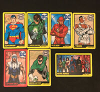 DC Comics Arcade Game Card CIRCUS CIRCUS Las Vegas Stamp - SUPERMAN - Lot of 7